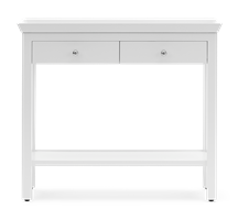 Aldwych Console Table, Small, Snow