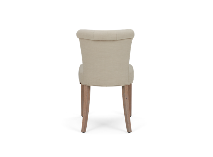 Calverston Dining Chair_Clara Natural_Pale Oak_Back