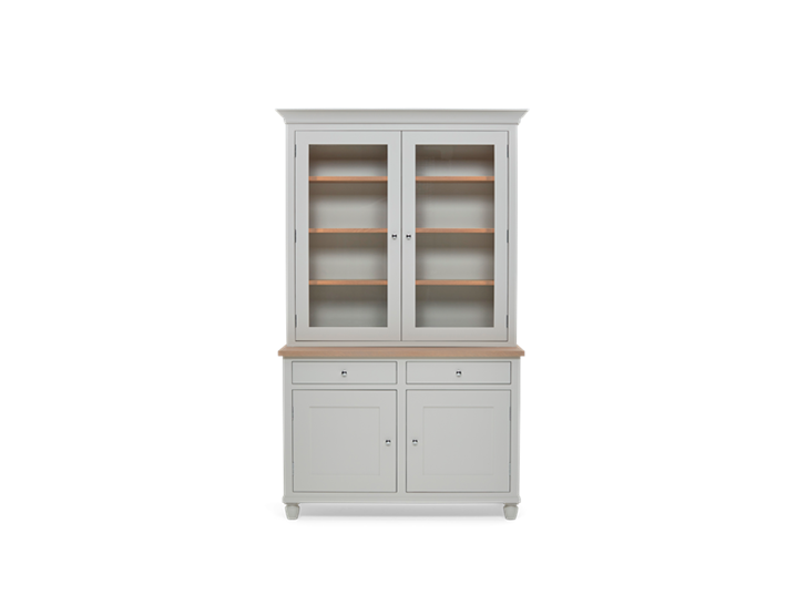 Suffolk 4ft Contemporary Dresser Silver Birch Front Closed ┬® Robert Smith 2020
