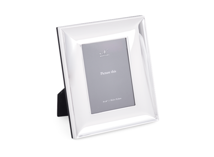 Porter 4x6 Silver Plated Photo Frame 2