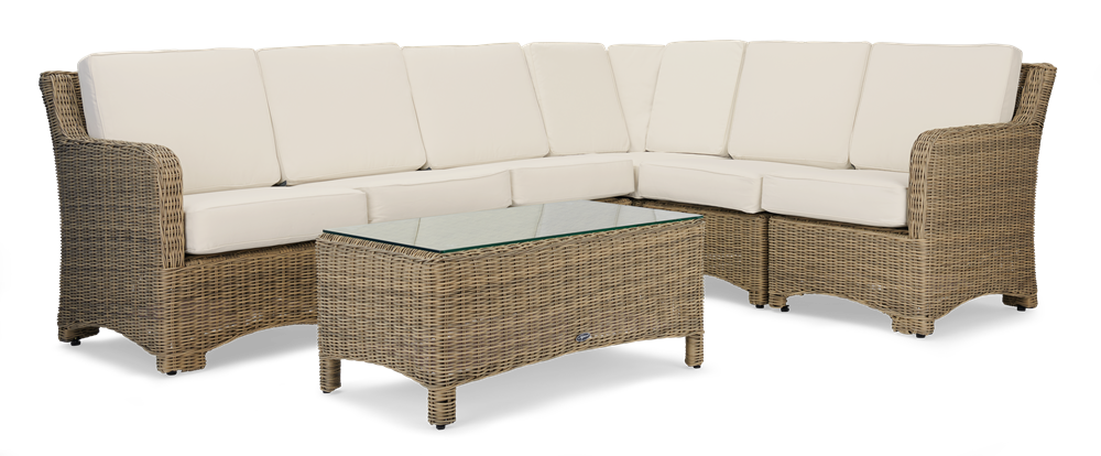 Compton Modular 6 Seater Corner Sofa with Coffee Table