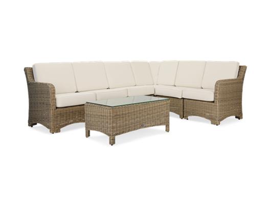 Compton Modular 6 Seater Corner Sofa with Coffee Table