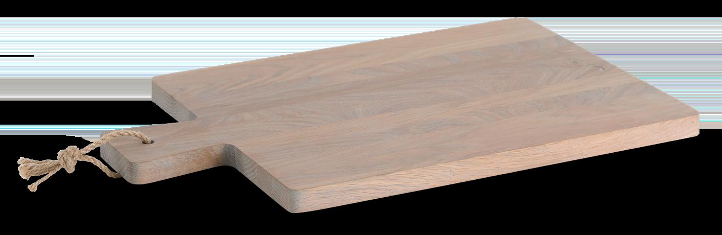Borough Rectangular Oak Chopping Board Seasoned Oak_3Quarter