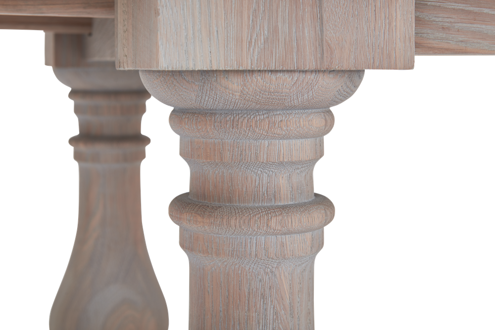 Balmoral 185-275 Extending Table_Seasoned Oak_Detail 4