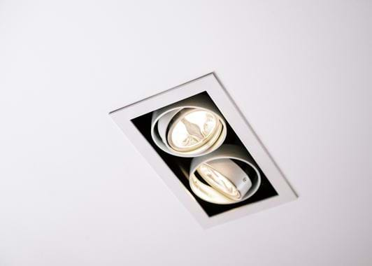 Coates Recessed AR50Ceiling Ligting Double