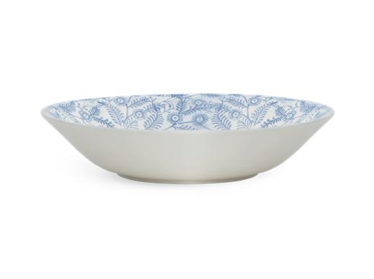 Olney Bowl Set of 6 Flax Blue