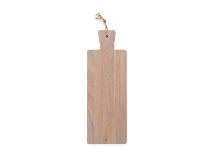 Borough Long Oak Chopping Board Seasoned Oak_Top