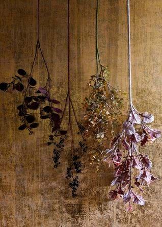 Festive hanging foliage