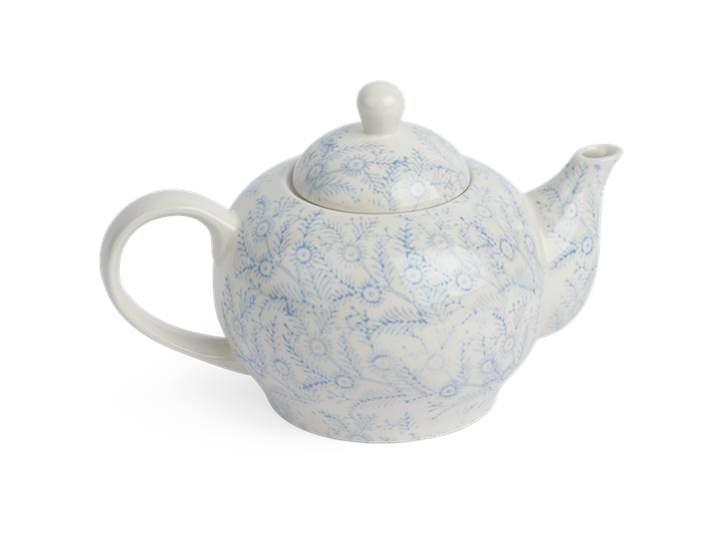 Olney Teapot - Flax Blue 3