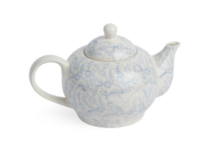 Olney Teapot - Flax Blue 3