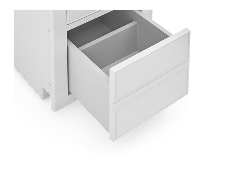 Chichester 375 3 Drawer Base Cabinet Shell z Detail 03