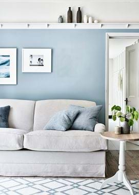 Olivia sofa bed & Suffolk side table