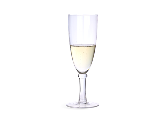 Barnes Champagne Flute Glasses - Set of 6 Wine