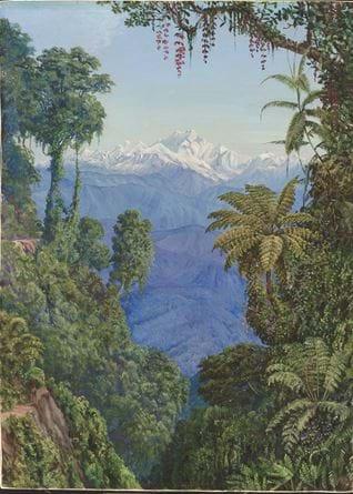 270. Distant View of Kinchinjunga from Darjeeling.