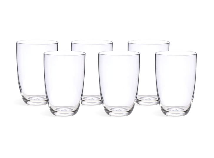 Barnes Tall Water Glasses - Set of 6