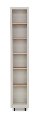 Pembroke Fitted Storage-400mm Driftwood-Silver Birch Front