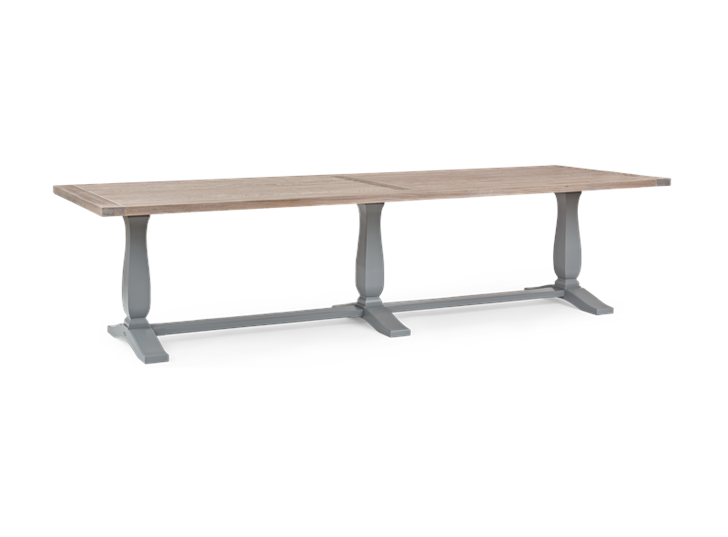 Harrogate 310 Rectangular Table_Fog_3Quarter
