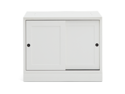 Chawton 2 Door Base Cabinet - Snow