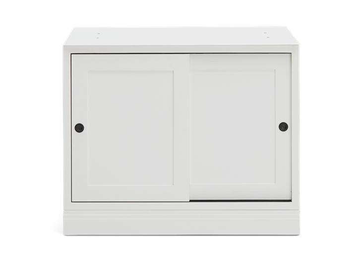 Chawton 2 Door Base Cabinet - Snow