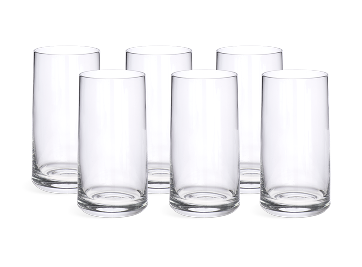 Hoxton Tall Water Glasses, Set of 6