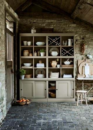 Chawton Rustic Breakfast Kitchen Dining Dresser