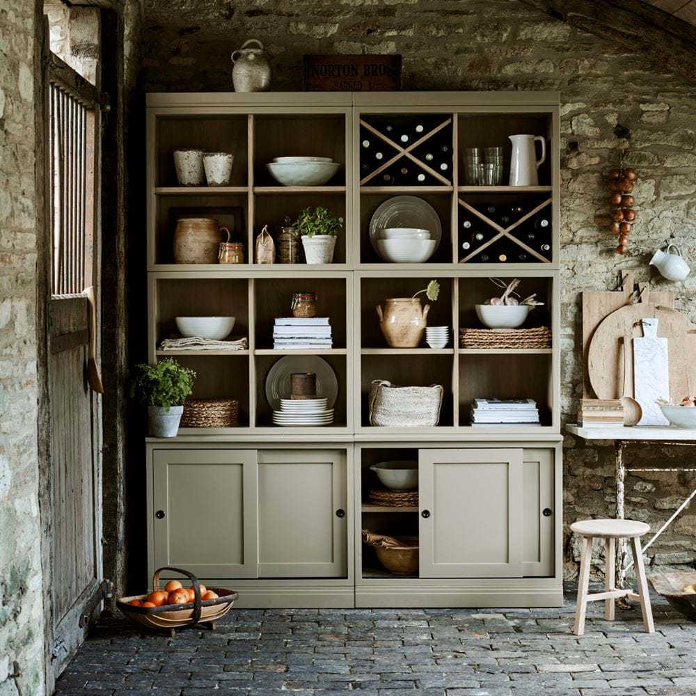 Chawton Rustic Breakfast Kitchen Dining Dresser