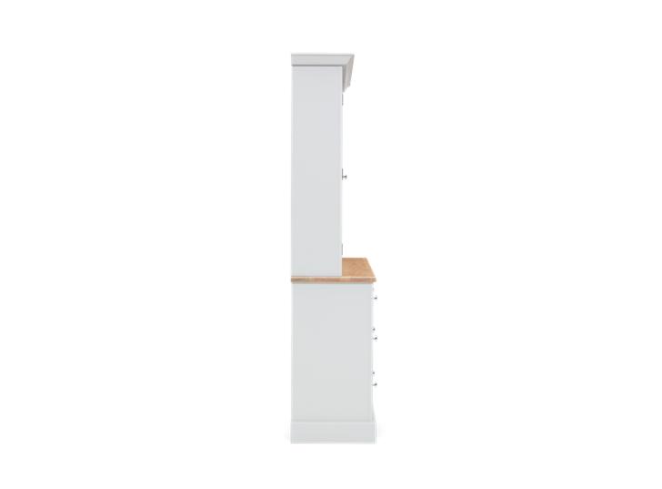 Chichester 5ft Glazed Rack Grand Dresser Top Side