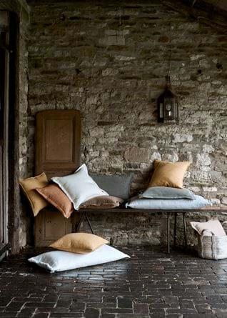 Beatrix cushion on bench