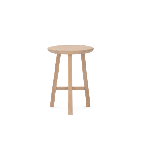 Northwich Stool Natural Oak_Front