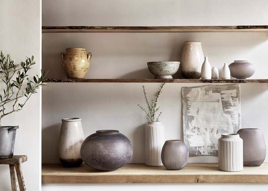 Broseley footed pot