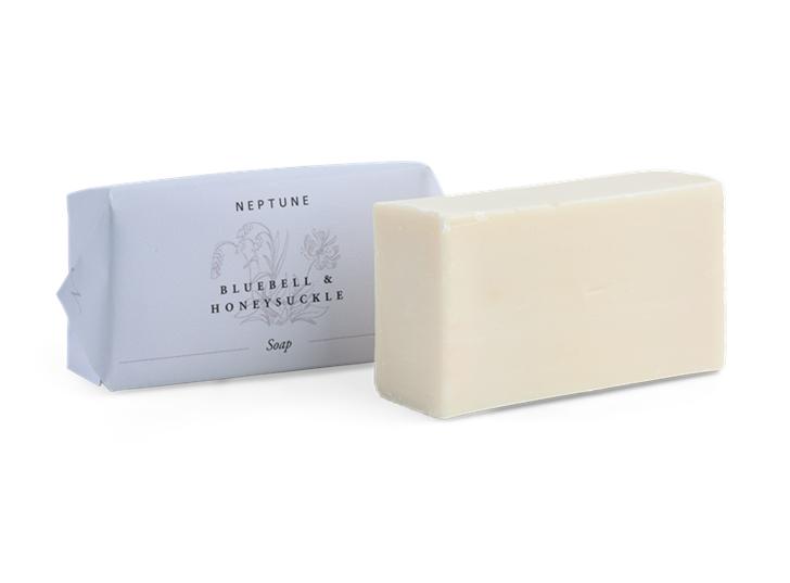 Bluebell and Honeysuckle Soap_3Quarter Open