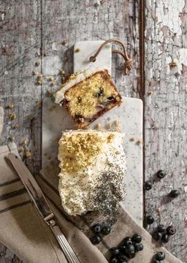 Blueberry and elderflower cake-1