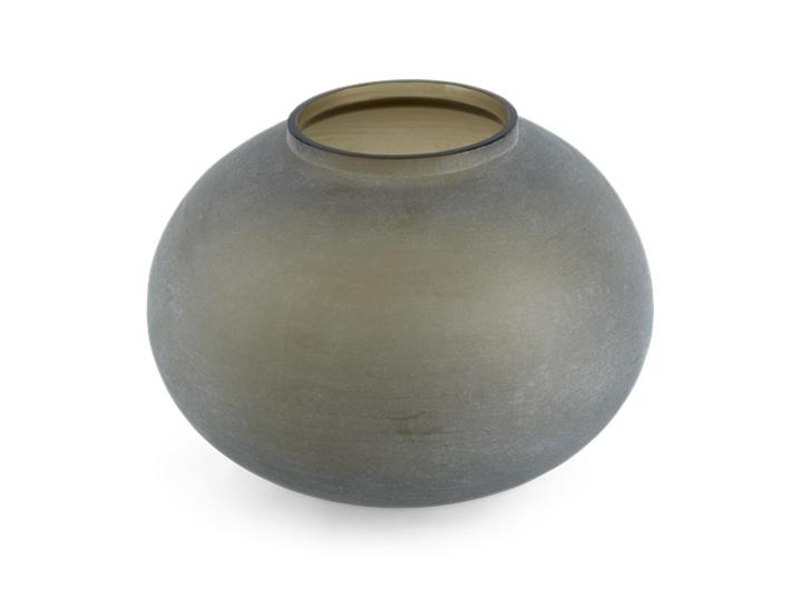 Alconbury Round Vase Large Grey_Top