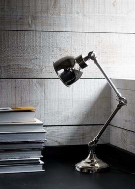 Brompton Desk Light Nickel