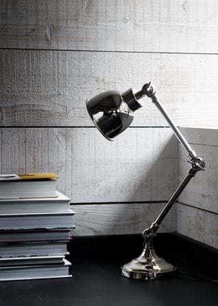 Brompton Desk Light Nickel