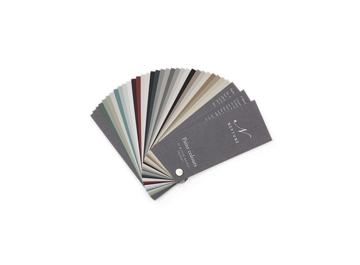 Neptune Paint Book Core Colour Fan