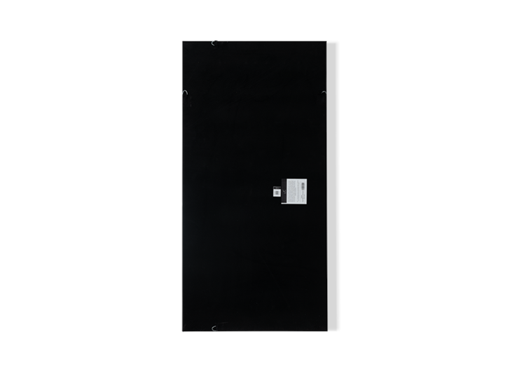 Overton paper art, rectangle, reverse