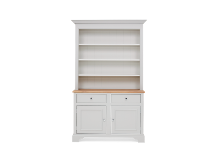 Chichester 4ft Open Rack Dresser Top Front
