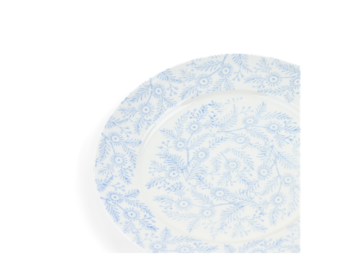 Olney Side Plate Set of 6 Flax Blue_Detail