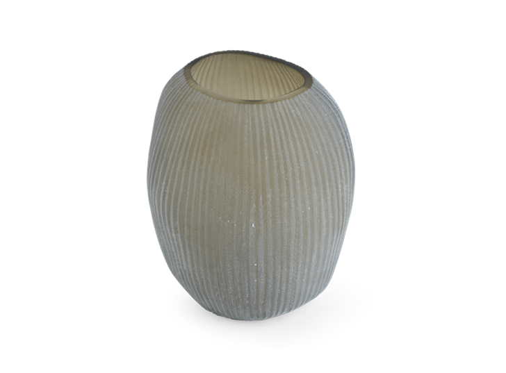 Alconbury Vase Large Grey_Top