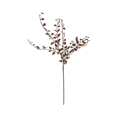 Autumn leaf stem