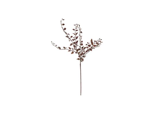 Autumn leaf stem